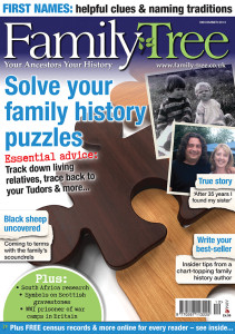 Family Tree Magazine December 2013